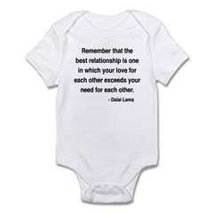 Dalai Lama 4 Infant Bodysuit