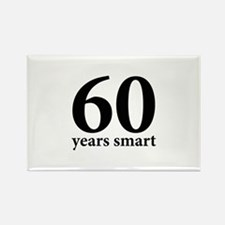 60 Years Smart Rectangle Magnet