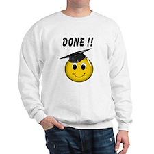 Smiley Graduate Sweatshirt