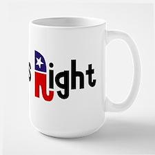 Always Right Large Mug
