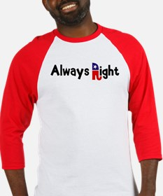 Always Right Baseball Jersey
