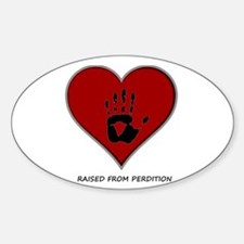 Perdition - Two Oval Decal