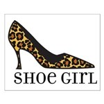 shoe girl Small Poster