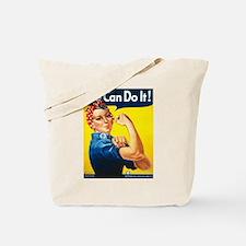 Vintage Rosie the Riveter Tote Bag