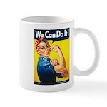 Vintage Rosie the Riveter Mug