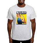 Vintage Rosie the Riveter Light T-Shirt