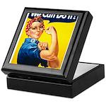 Vintage Rosie the Riveter Keepsake Box