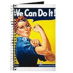 Vintage Rosie the Riveter Journal