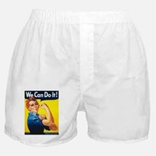 Vintage Rosie the Riveter Boxer Shorts