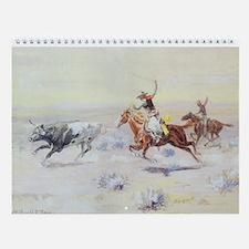 Vintage American West Wall Calendar