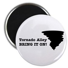 Unique Tornado alley Magnet