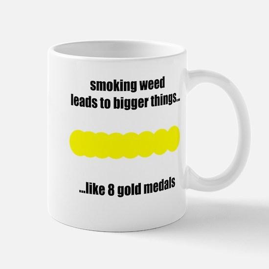 Cute Gold medal Mug
