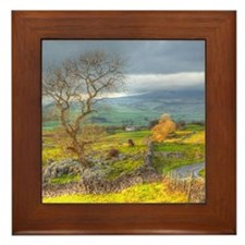 Framed Tile - Featuring The Yorkshire Dales
