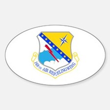168th Air Refueling Wing Oval Decal