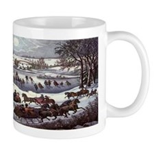 Central Park in Winter Mug