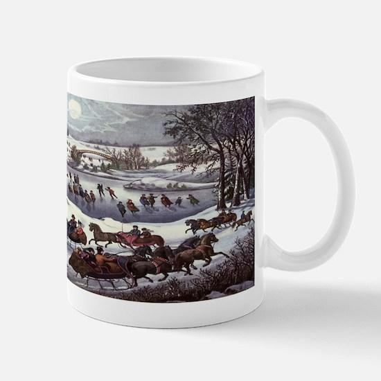 Central Park in Winter Mug