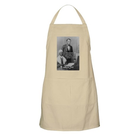 Lincoln with Sojourner Truth BBQ Apron