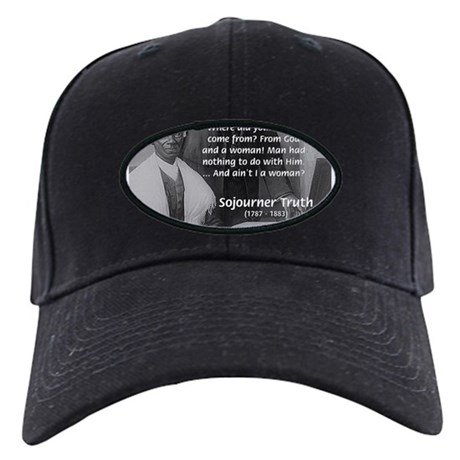 Lincoln with Sojourner Truth Black Cap