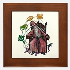 Wizard Framed Tile