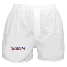 Democrat Tax Cheats Boxer Shorts