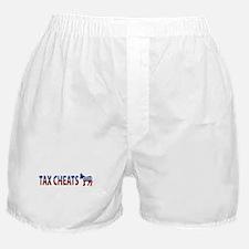 Democrat Tax Cheats Boxer Shorts