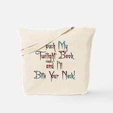 Fun Twilight Book Tote Bag