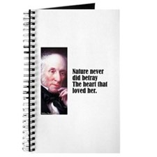 "Wordsworth ""Nature Never"" Journal"