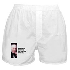 "Wordsworth ""Nature Never"" Boxer Shorts"