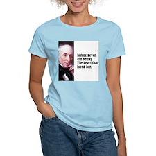 "Wordsworth ""Nature Never"" T-Shirt"