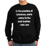 Dalai Lama 13 Sweatshirt (dark)