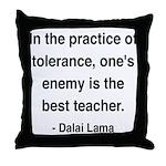 Dalai Lama 13 Throw Pillow