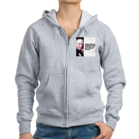 "Wordsworth ""Splendour"" Women's Zip Hoodie"