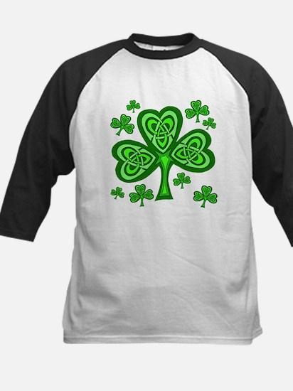 Celtic Shamrocks Kids Baseball Jersey