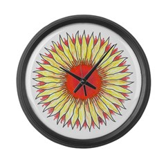 Power Large Wall Clock