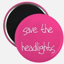 save the headlights Magnet