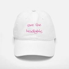 save the headlights Baseball Baseball Cap