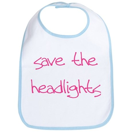 save the headlights Bib