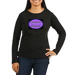 Executive Princess Women's Long Sleeve Dark T-Shir
