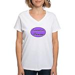Executive Princess Women's V-Neck T-Shirt