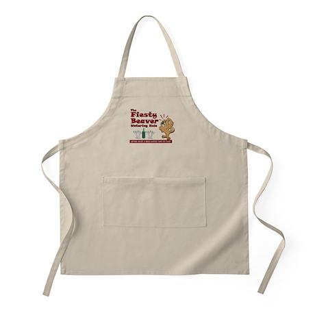 Fiesty Beaver BBQ Apron