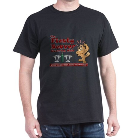 Fiesty Beaver Dark T-Shirt