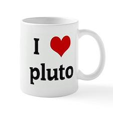 I Love pluto Mug