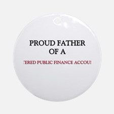Proud Father Of A CHARTERED PUBLIC FINANCE ACCOUNT