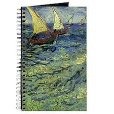 Van Gogh Seascape at Saintes Maries Journal