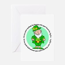 Lucky Leprechaun Greeting Card