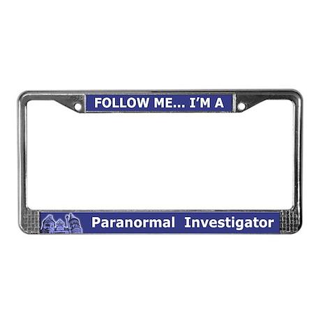 Haunted Mansion PI License Plate Frame