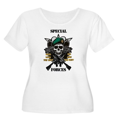 U.S. Army Special Forces Women's Plus Size Scoop N