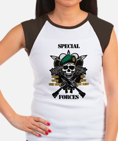 U.S. Army Special Forces Women's Cap Sleeve T-Shir