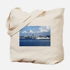 Unique Ferries Tote Bag