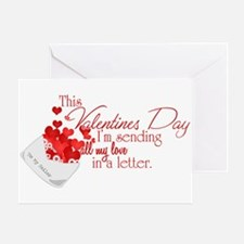 Love Letters (Sailor) Greeting Card